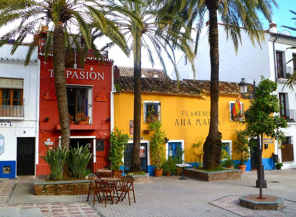 The ever enchanting Marbella Old Town