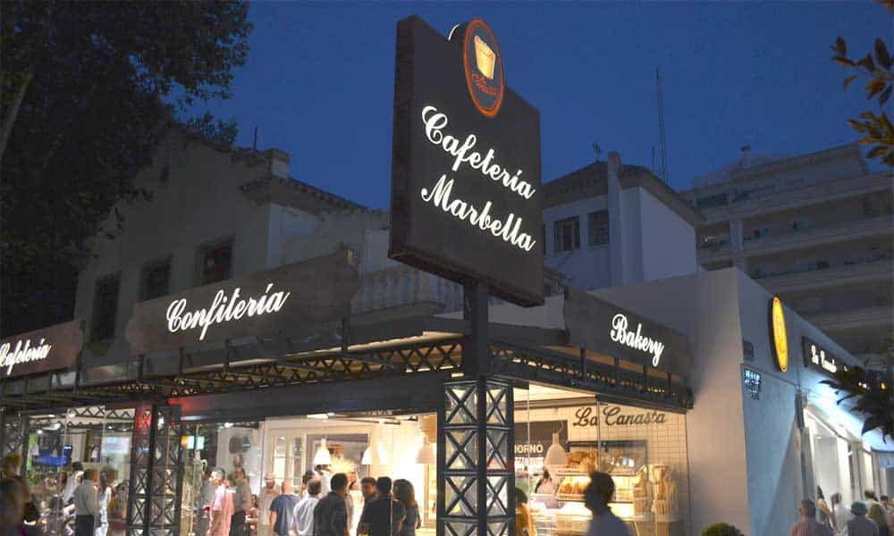 Coffee shops, bakeries and ice-cream parlours in Marbella. The best on the Costa del Sol