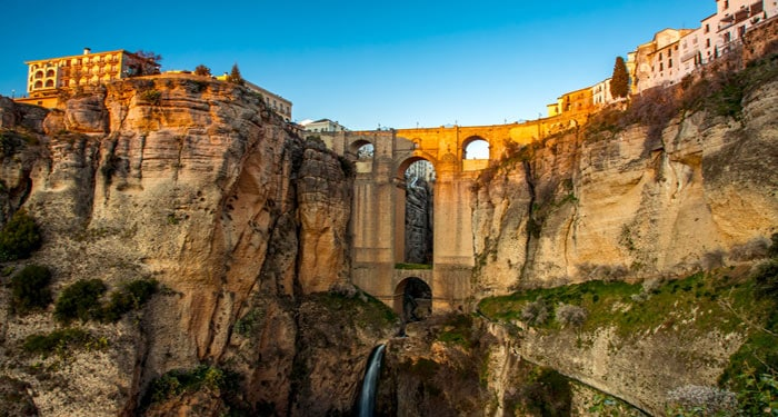 A dramatic setup above a deep gorge: the unique Ronda