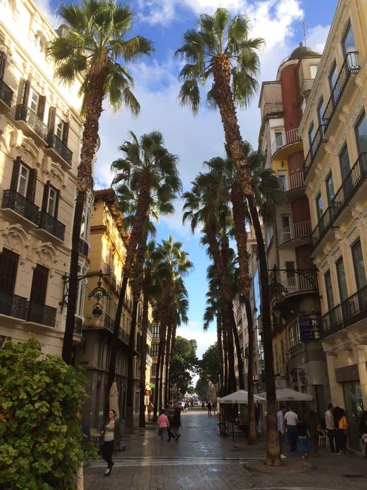 Malaga. Birthplace of Picasso and the southern most large city in Europe