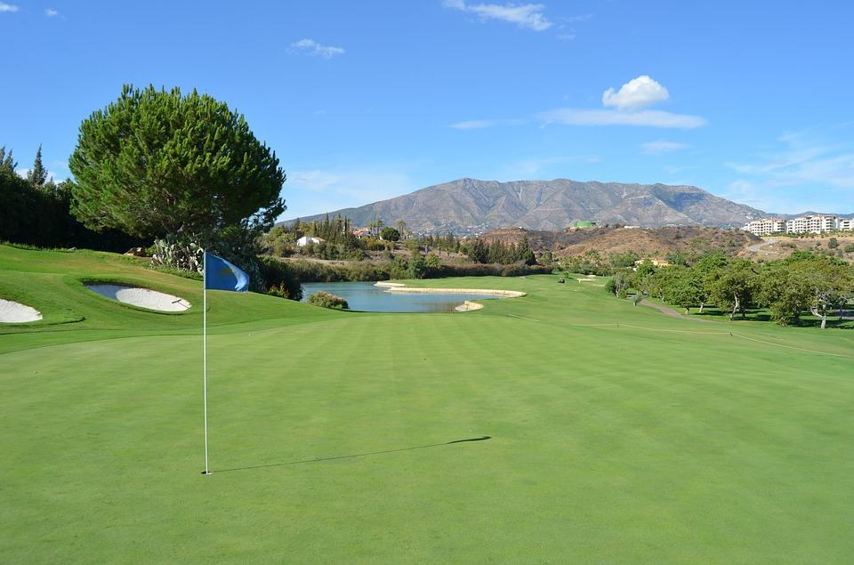 Golf in marbella attraction