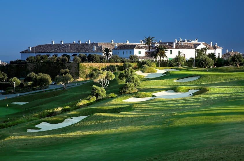 golf at finca cortesin