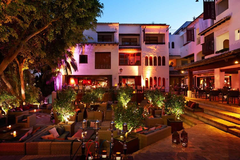 Puente Romano area nightlife marbella